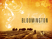 Bloomington, A Sesquicentennial Celebration book cover